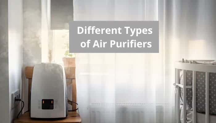 Different types of air purifiers
