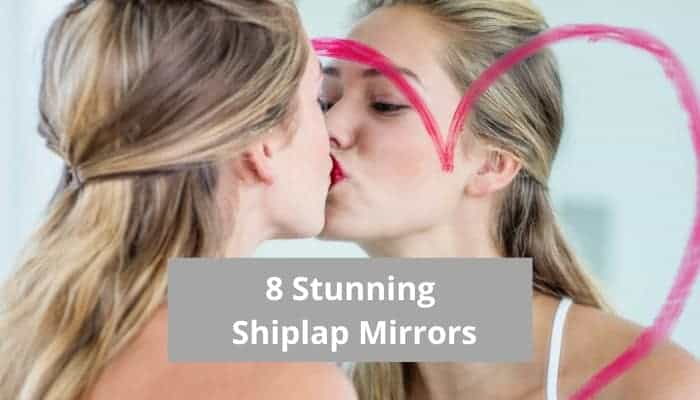 Top rated shiplap mirrors