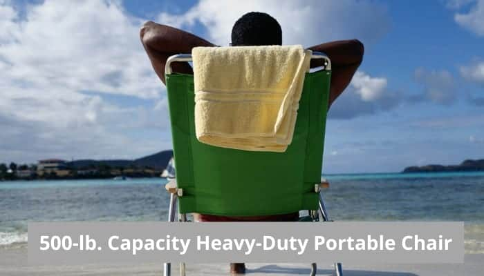 Heavy duty portable chairs