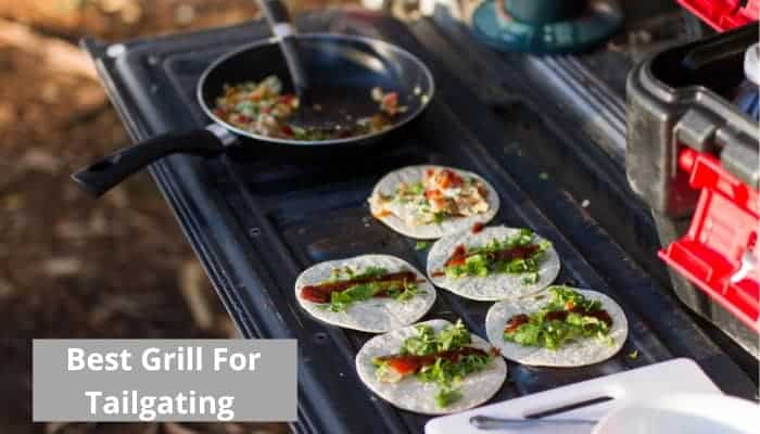 Best grills for tailgating