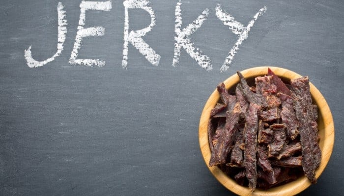 The best jerky cutting board with knife