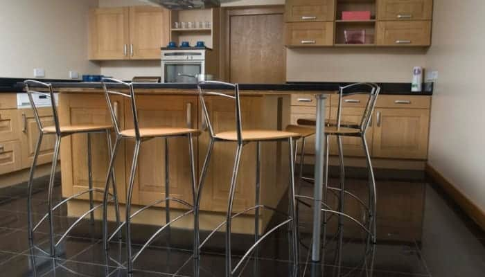 Counter height barstools for the kitchen