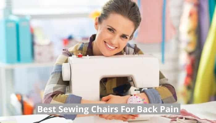 Very comfortable sewing chair