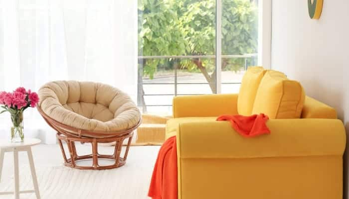 Very comfortable papasan chair for adults