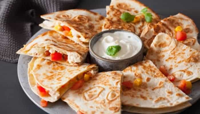 Quesadilla Maker for great meals and snacks