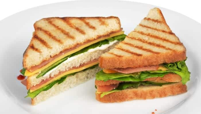 Make delicious panini sandwiches