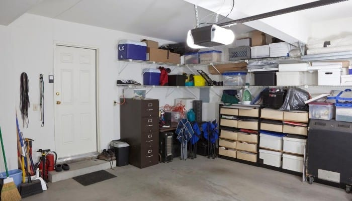 Remove moisture from your garage