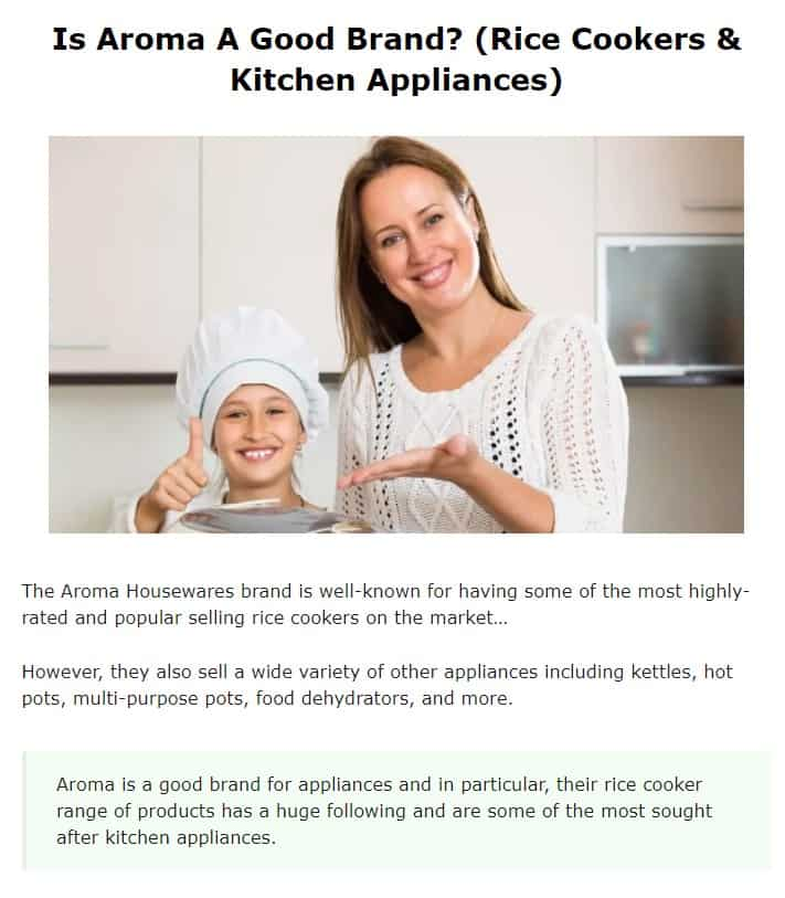Aroma is an amazing countertop kitchen appliance brand