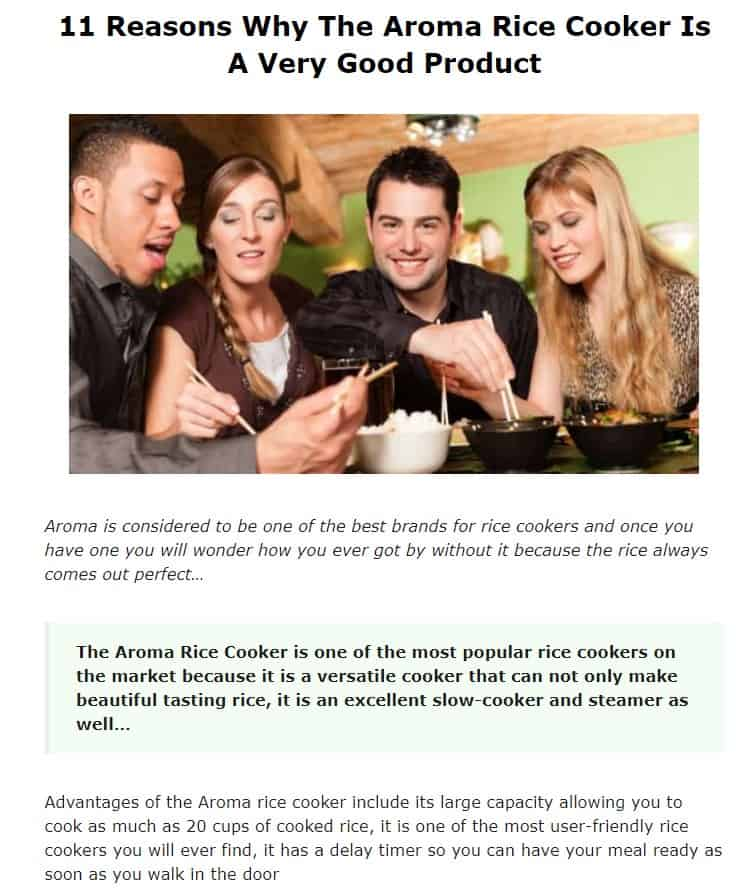 Aroma is an amazing rice cooker brand