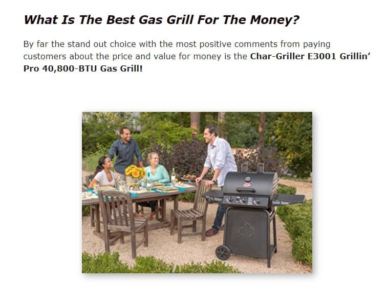 Char Griller is an excellent grill brand