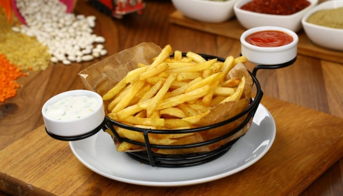 Can you make french fries with a food processor?