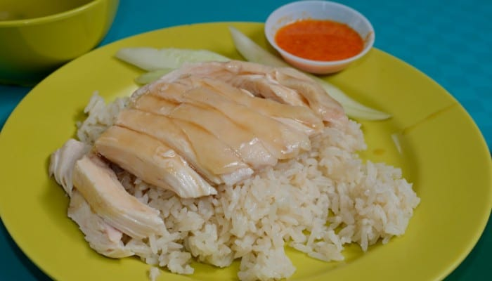 Can you cook chicken in Aroma rice cooker